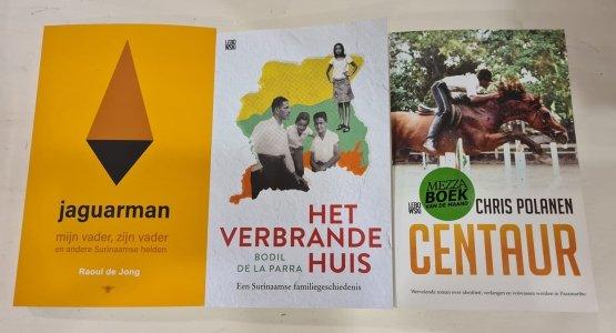 Raoul de Jong, Bodil de la Parra en Chris Polanen over Suriname