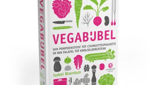 'Kook tien recepten uit deze Vegabijbel, dan weet ik zeker dat je stap voor stap net zoveel van de vegetarische keuken gaat houden als ik.'