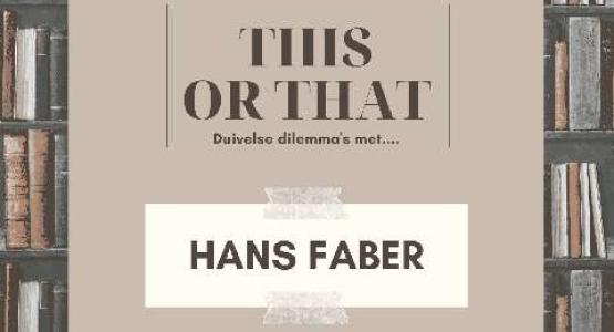 15 this or that-vragen aan… Hans Faber