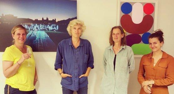 Anja Sicking tekent voor nieuwe roman bij Lebowski