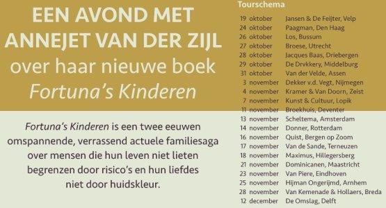 Boektour Annejet van der Zijl
