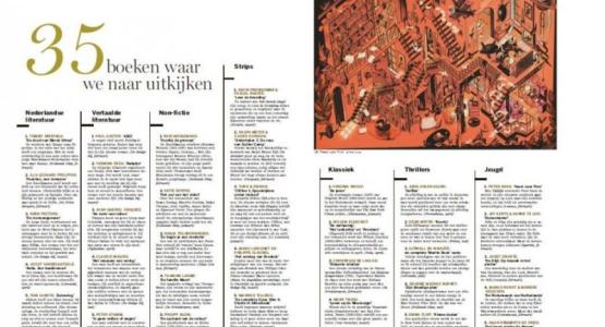 Vier titels Hollands Diep in Standaard tiplijst