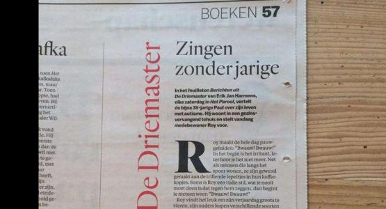 Erik Jan Harmens krijgt eigen column in Het Parool