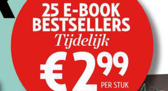 Actie: 9 Bestseller-eBooks voor 2,99