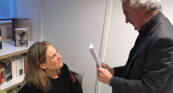 Ondertekening contract Hollands Diep