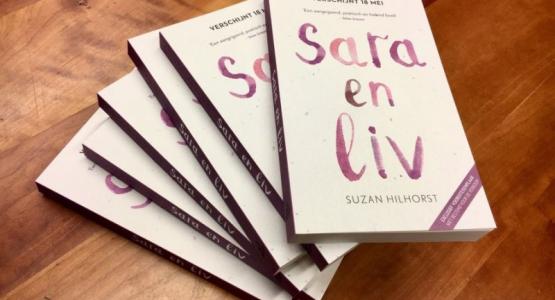 Maak kans op een exclusief exemplaar van 'Sara en Liv'