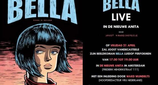 Win beeldroman Bella bij Hebban