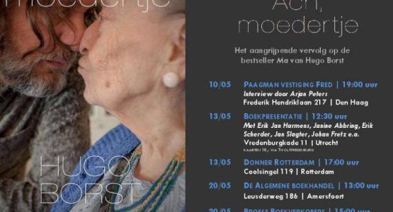 Hugo Borst on tour voor 'Ach. moedertje'