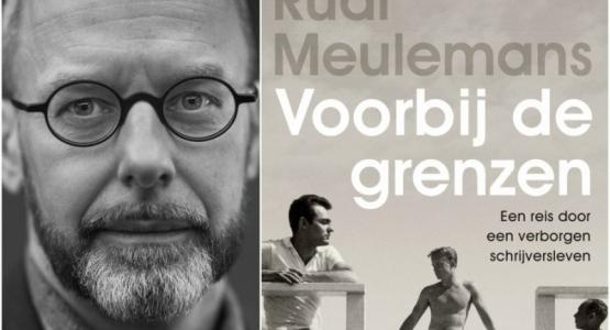 Rudi Meulemans te gast in boekhandel Boekarest