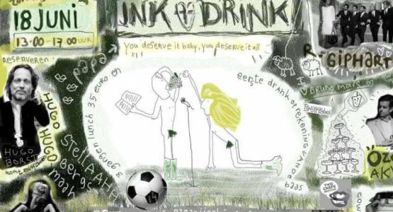 18 juni (Vaderdag): INK en DRINK met Hugo Borst