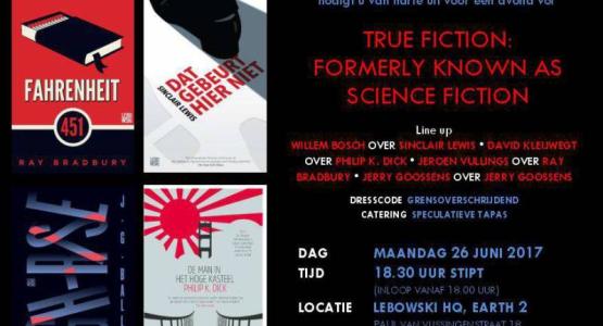 26 juni: True Fiction Night
