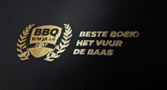 BESTE BBQ BOEK VAN 2017: HET VUUR DE BAAS