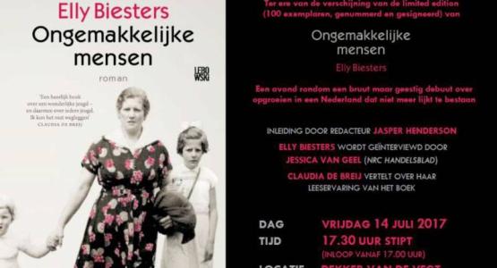 Proof Party #4: Elly Biesters (14 juli in Nijmegen)
