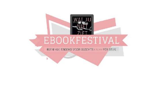 Actie: veel korting tijdens Ebookfestival in juli
