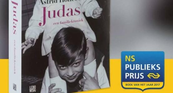 'Judas' van Astrid Holleeder maakt kans op NS Publieksprijs 2017
