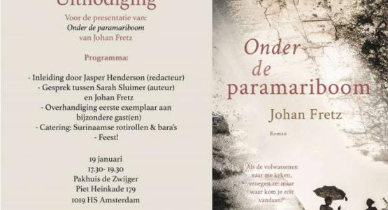 Boekpresentatie Johan Fretz - Onder de paramariboom