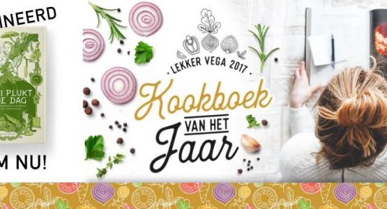 'Mari plukt de dag' genomineerd voor Lekker Vega kookboek 2017