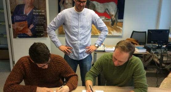 Roelof ten Napel tekent contract bij Hollands Diep