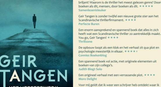 Recensies 'Het meesterwerk' van Geir Tangen