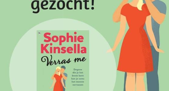 Ambassadeurs gezocht voor 'Verras me' van Sophie Kinsella