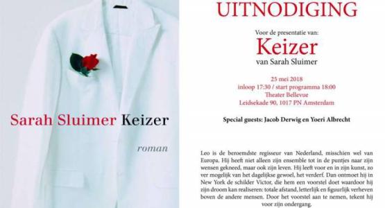 Win 2x6 lezerskaartjes voor de presentatie van 'Keizer' van Sarah Sluimer