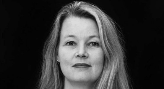 Sabine van den Berg treedt op bij Dichters in de Prinsentuin in Groningen
