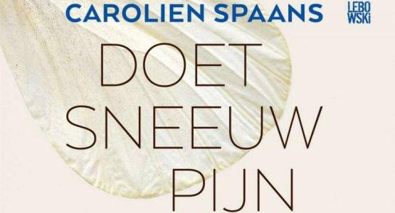 23 augustus: boekpresentatie 'Doet sneeuw pijn' van Carolien Spaans