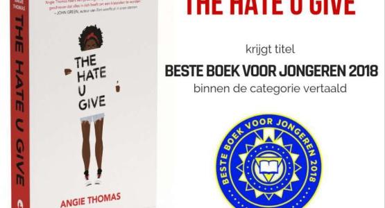 'The Hate U Give' wint Beste Boek voor Jongeren 2018!