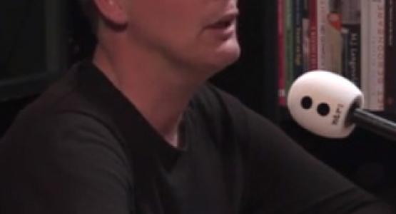 Erik Jan Harmens te gast bij 'Schrijvers en hun geboortegrond' van de NTR Academie (Radio 5)