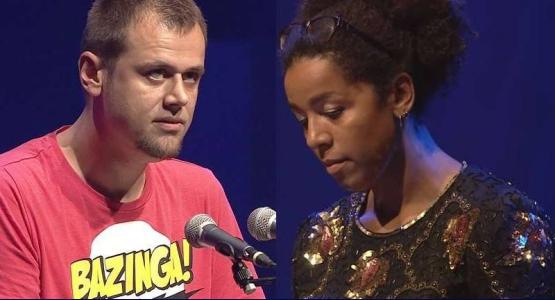 Gedichten van Jonathan Griffioen en Simone Atangana Bekono