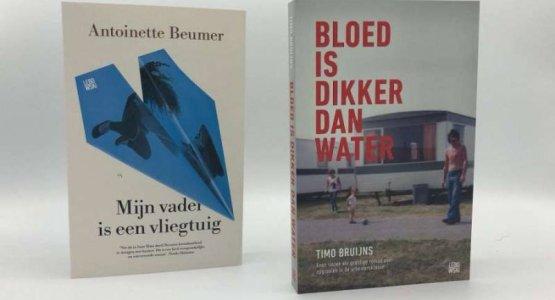 Timo Bruijns en Antoinette Beumer op longlist ANV Debutantenprijs