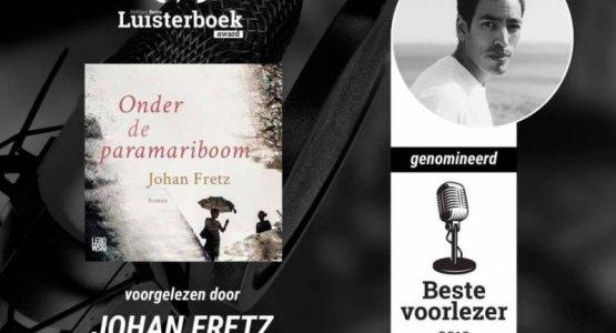 Johan Fretz wint Hebban Luisterboek Award 2019 met 'Onder de paramariboom'