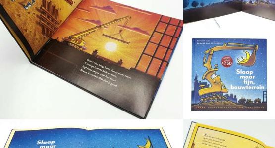 Het razendpopulaire boek 'Slaap maar fijn, bouwterrein' is vanaf 26 juni weer leverbaar!