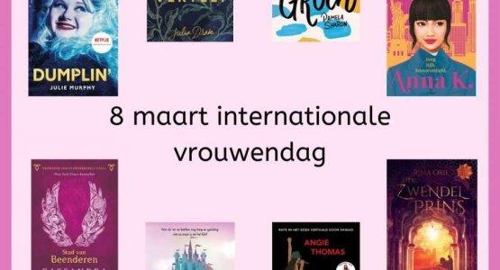 Internationale Vrouwendag: boeken met supervrouwen!