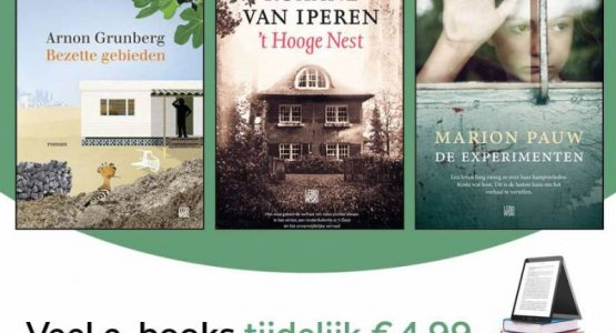 E-Book Festival bij Lebowski: veel e-books voor 4,99 (o.a. literatuur, bestsellers, debuten, thrillers)