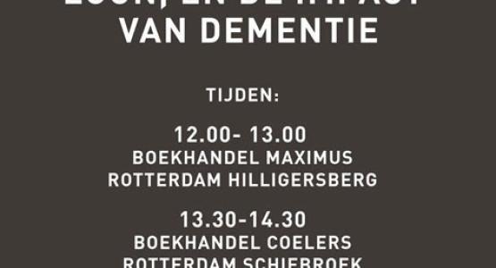 Hugo Borst - Boekhandelstour Rotterdam - 21 november
