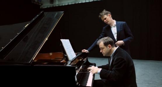 Ian Bostridge treedt op in het Concertgebouw