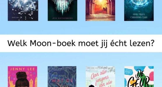 Flowchart: Welk Moon-boek moet jij écht lezen?