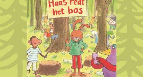 Nieuwe lesbrief 'Haas redt het bos'!