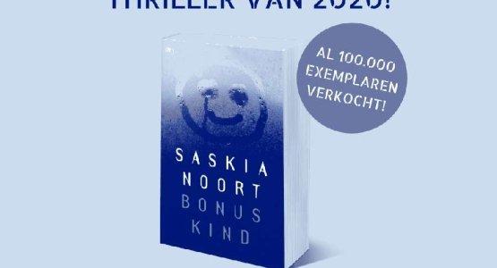 'Bonuskind' van Saskia Noort is de bestverkochte thriller van 2020!