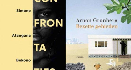 Confrontaties van Simone Atangana Bekono en Bezette gebieden van Arnon Grunberg op longlist Libris Literatuurprijs 2021
