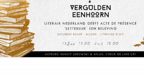 Saturday Roast met Willem Bosch, Cor de Jong en Jonah Falke tijdens 24H Oost - 13 februari in Amsterdam