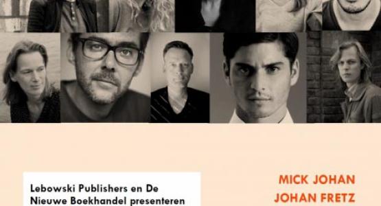 Volg Erik Jan Harmens en zijn roman in de maak tijdens LEBOWSKI LIVE