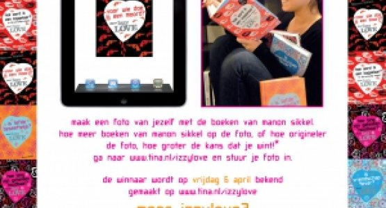 Win een iPad2 met IzzyLove!