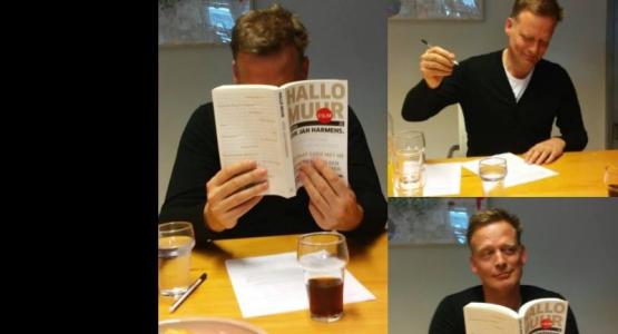 Erik Jan Harmens tekent voor nieuwe roman