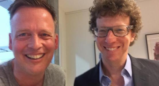 Erik Jan Harmens in gesprek met Arnon Grunberg