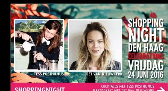 Meet & Greet met: Jet van Nieuwkerk en Tess Posthumus ('s werelds beste vrouwelijke bartender)