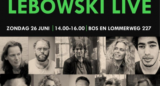 Kom op zondag 26 juni naar Lebowski Live #5!
