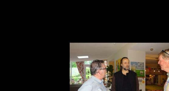 Hugo Borst op bezoek bij Herbergier Piershil