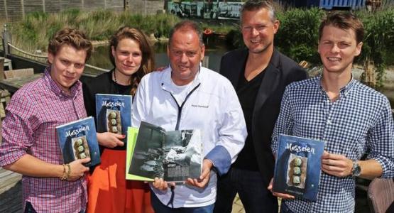 Piet Devriendt verklapt mosselrecepten in eerste kookboek
